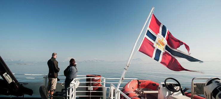 Sommeren 2015 kan dere reise med en ny hurtigbåtrute Brønnøysund - Leka - Rørvik - Foto: Olav Breen
