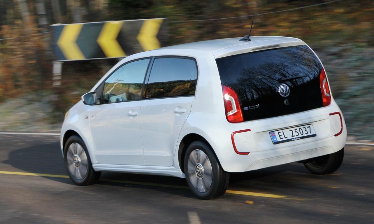 Prøvekjøring: Tommelen opp for Volkswagen e-up!