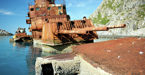 Removal of the cruiser, the Murmansk
