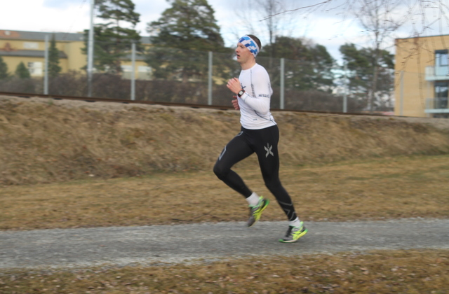 Henning Mortensen avsluttet vårsesongen i Gå-joggen som han startet den første onsdagen i april.