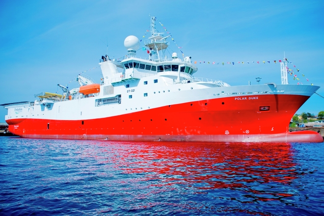 Polar Duke seismic vessel