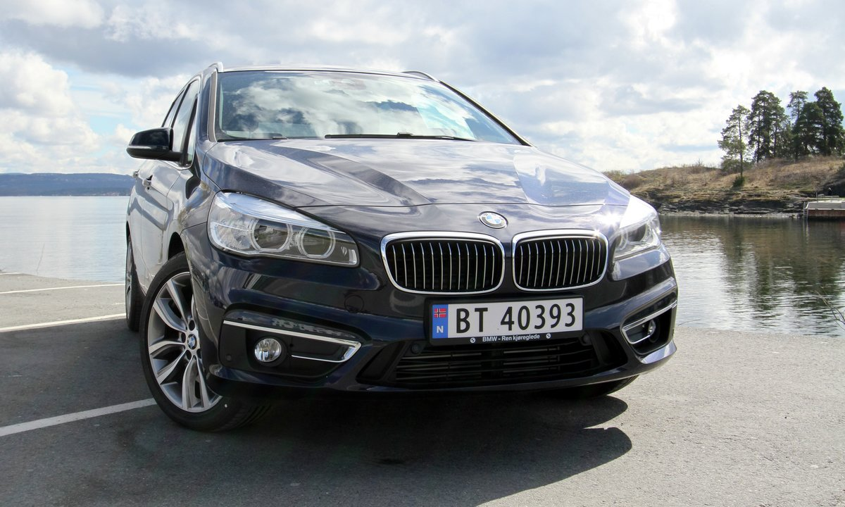 Test av BMW 225xe: Kampen for rekkevidden