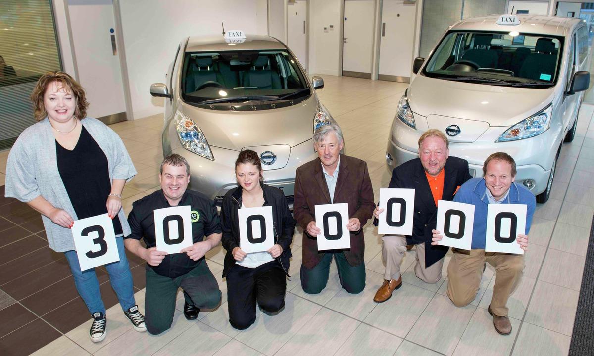 Runder fem millioner elektriske kilometer