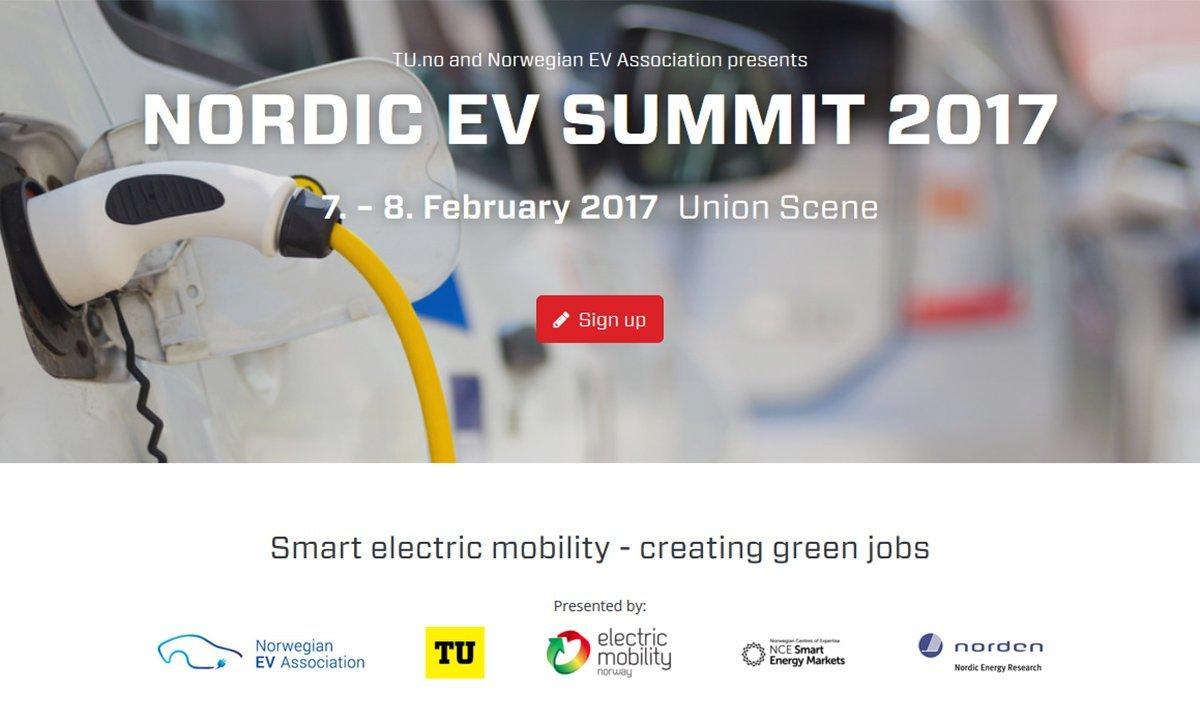 Nordens største elbilkonferanse i Drammen