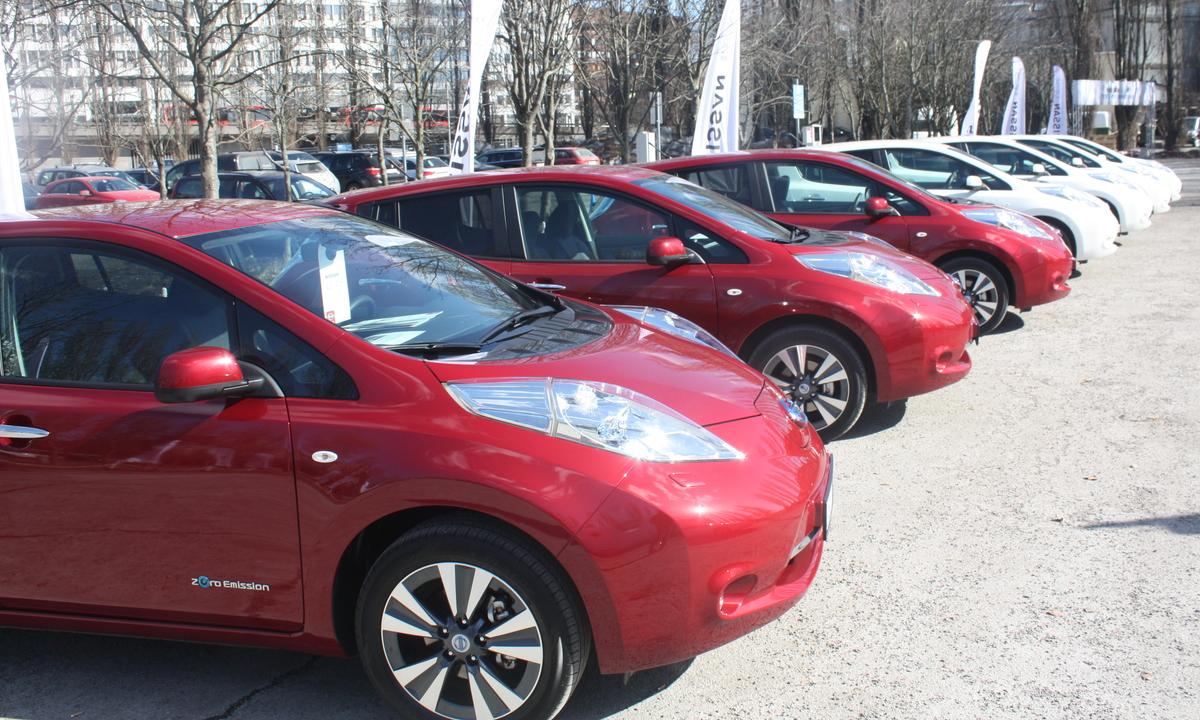 7.882 nye elbiler registrert i 2013