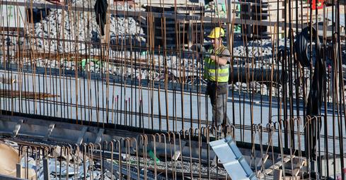 Kontraktsarbeid for råbygg avsluttet