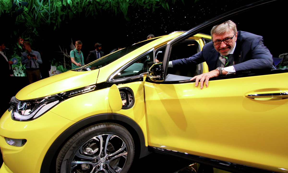 Opel Ampera-e blir desidert rekkeviddevinner