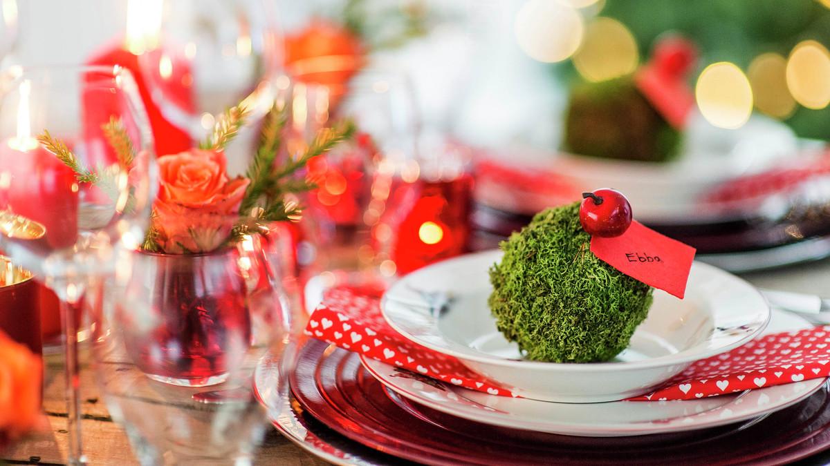 Skapa ett trevligt julbord