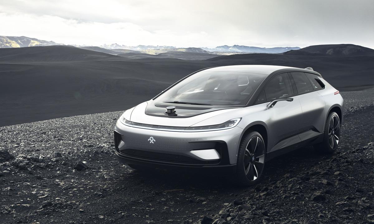 Dette er elbilen Faraday Future FF91