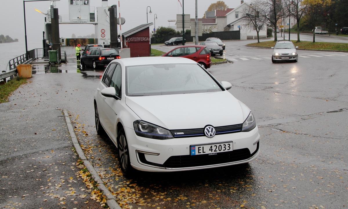 Test av Volkswagen e-Golf: Så mye duger den til
