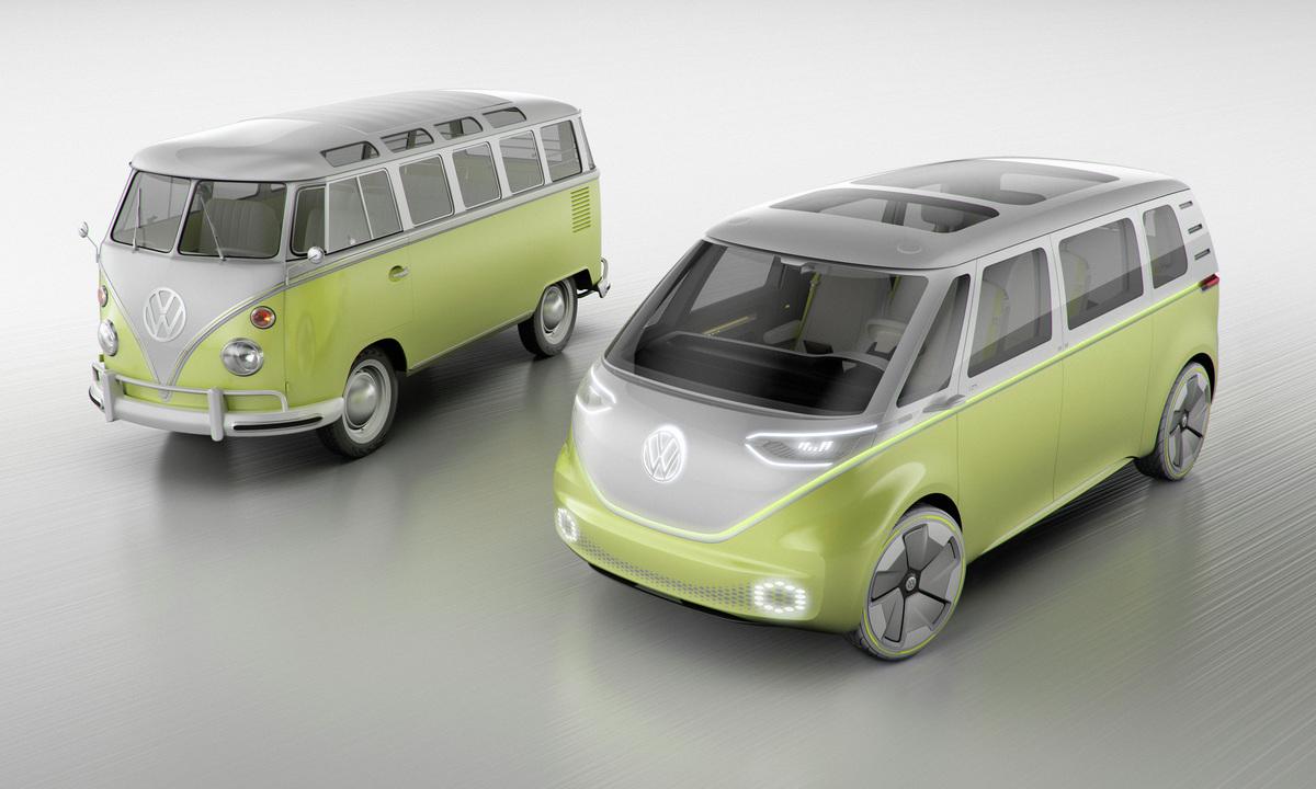 Elektrisk folkevognbuss med 111 kWh batteri