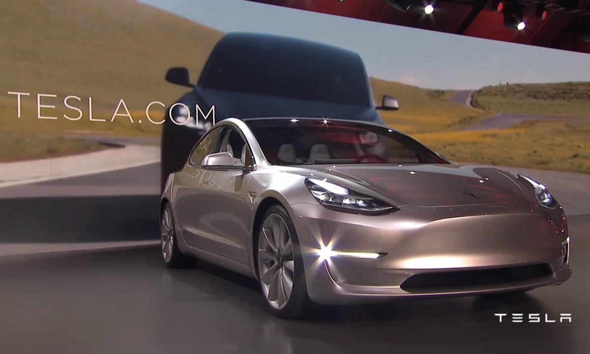115.000 har bestilt Tesla Model 3