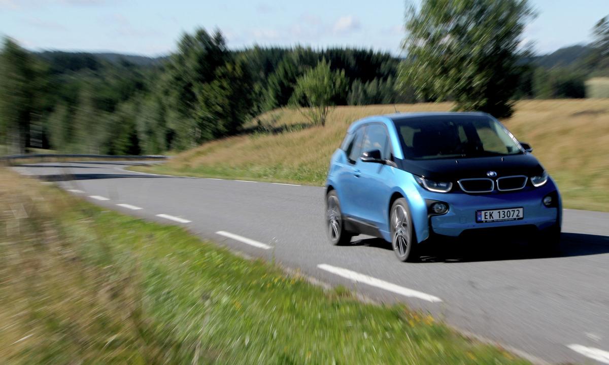Test av BMW i3 94Ah: Nå er den mye bedre på langtur