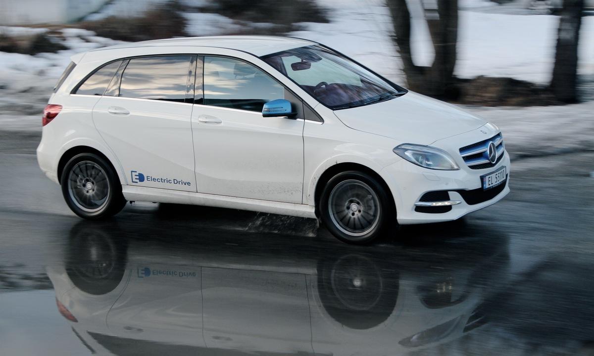 Test av Mercedes-Benz B 250e: Besto vinterprøven