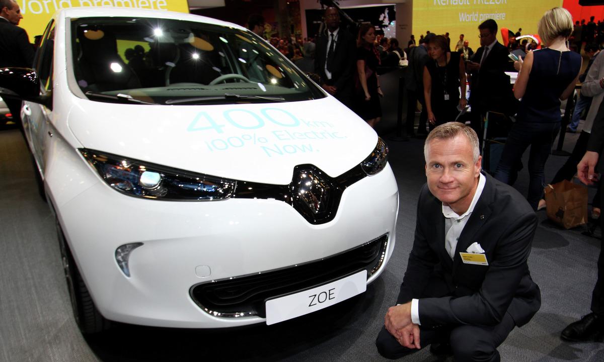 Doblet rekkevidde siden starten for Renault Zoe