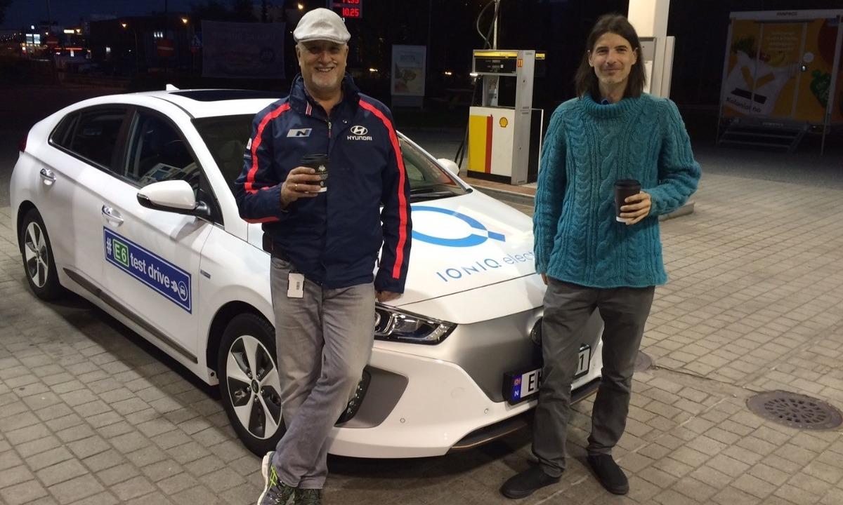 Test av Hyundai Ioniq på langtur