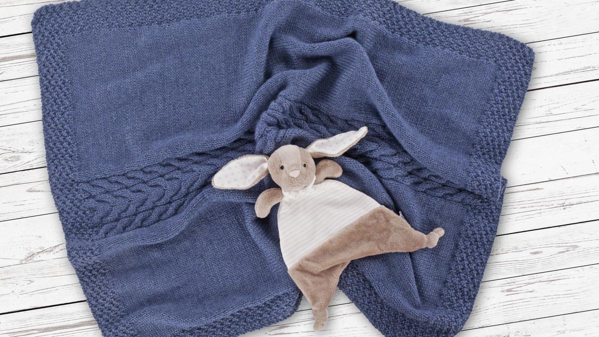Babypledd i Alpaca Soft