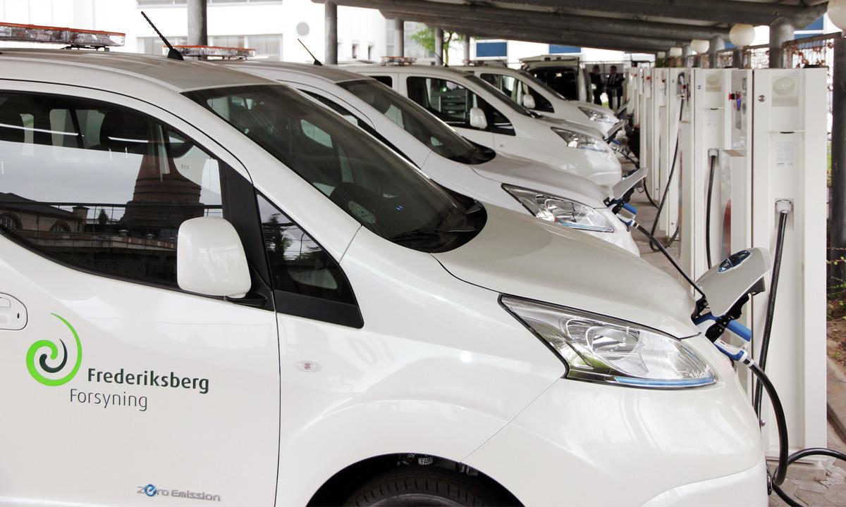 Her skal ti elbiler levere strøm til nettet