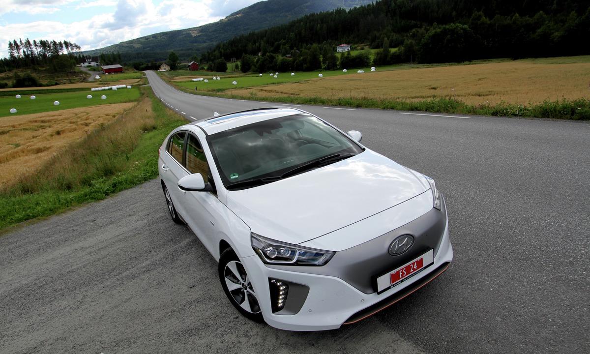 Test av Hyundai IONIQ Electric: Svært effektiv nykommer