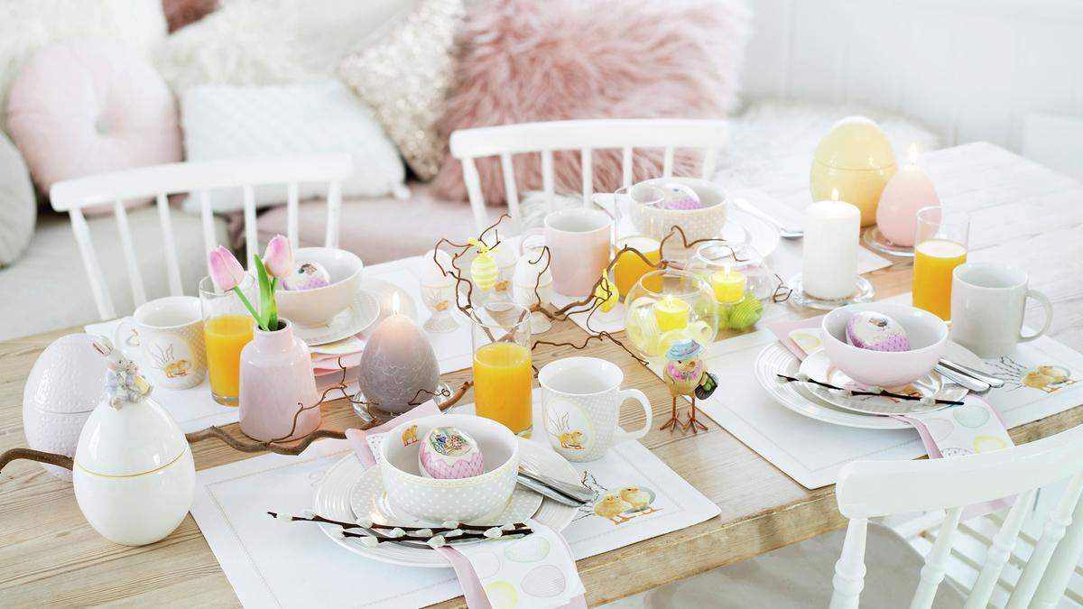 Duka fint till påsk!