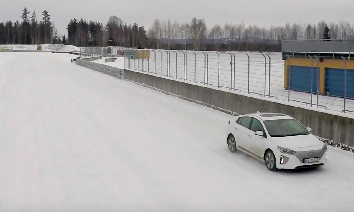 Test av Hyundai IONIQ: Stor forskjell i vinterkulda | Norsk