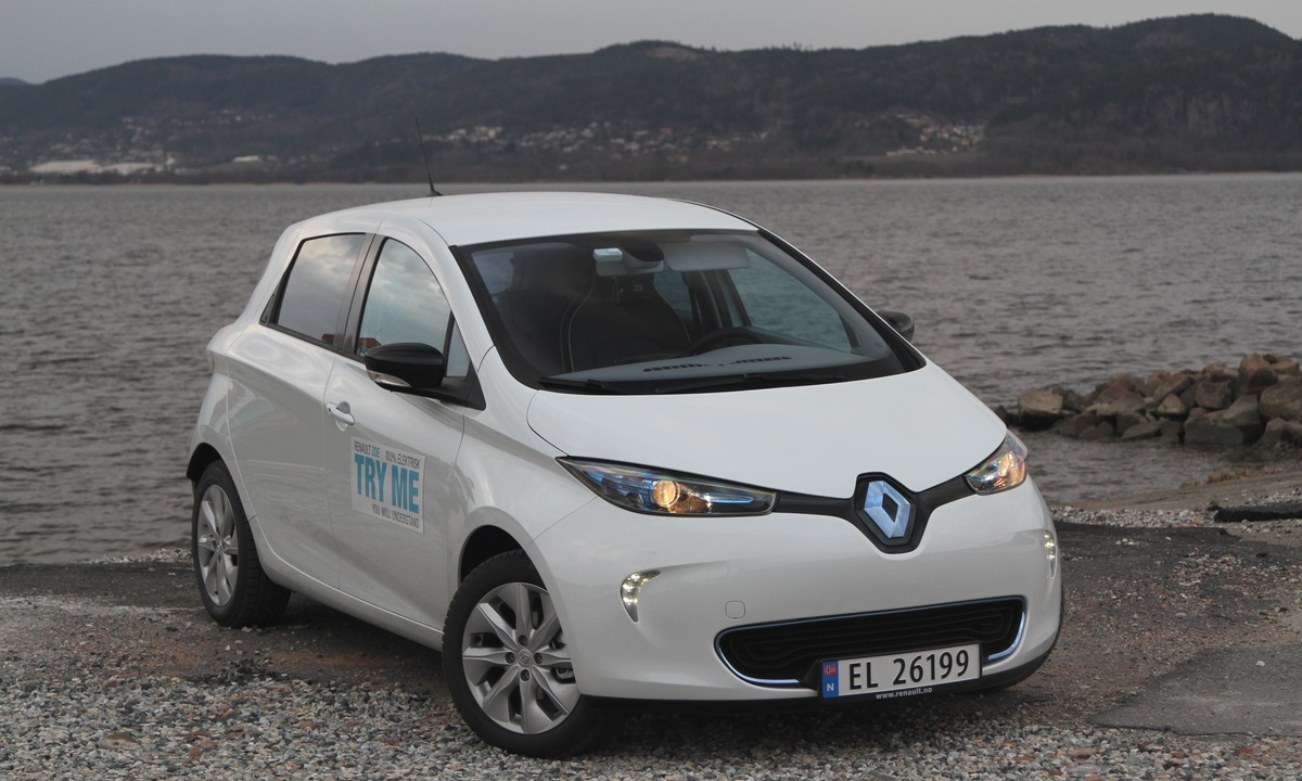 Test av Renault Zoe 210: Sent, men godt