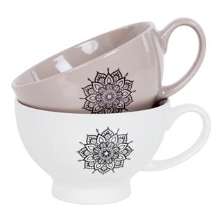 kaffe, te, kopp, mugg, kök, servis, varm