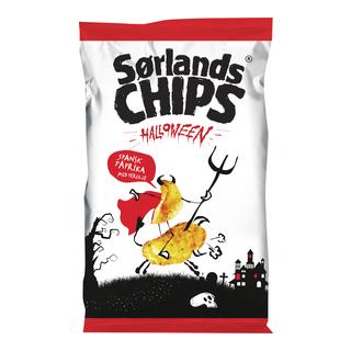 halloween, potetgull, chips, salt, godteri, kos