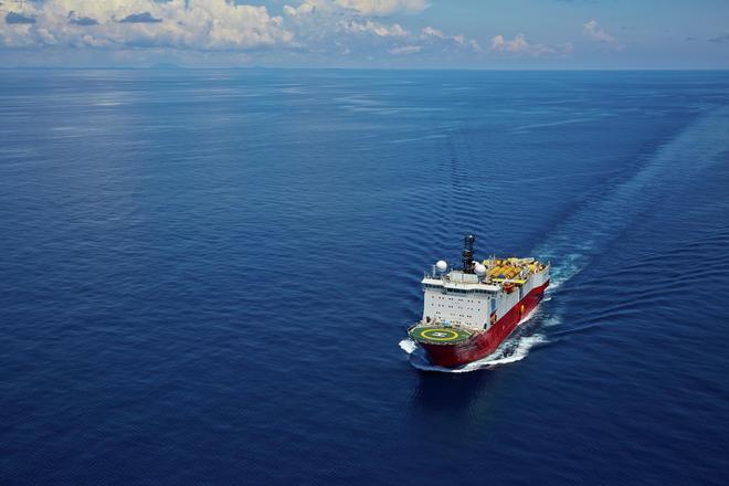 Polar Marquis seismic vessel