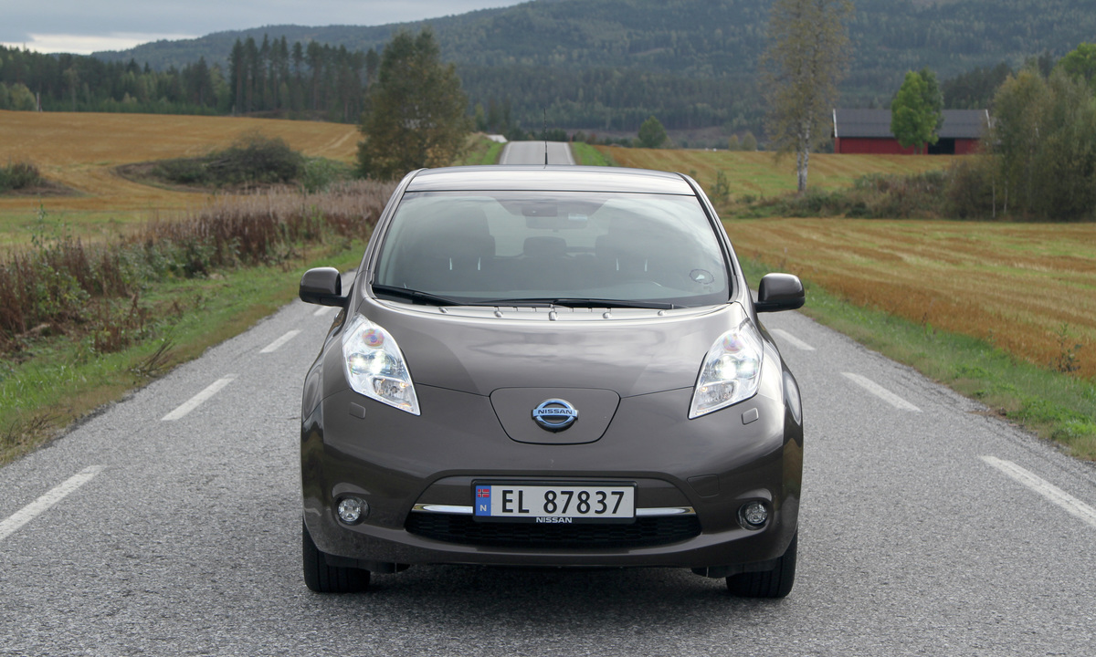 test av nissan leaf 30 kwh en god fjerdeplass norsk elbilforening. Black Bedroom Furniture Sets. Home Design Ideas