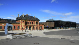 The tourist offices in FjellNorway are easy to locate. Lillehammer tourist information is centrally located at Lillehammer Railway Station.  - Photo: