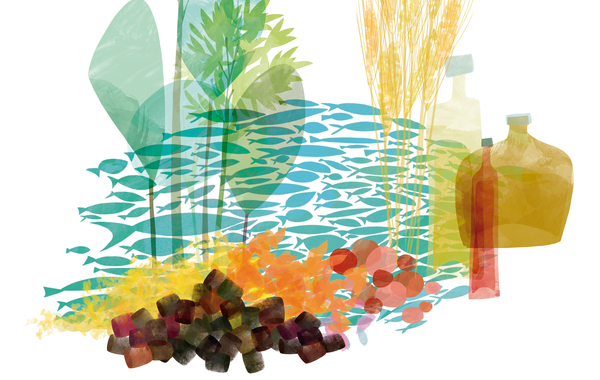 Nutrace pellet illustration