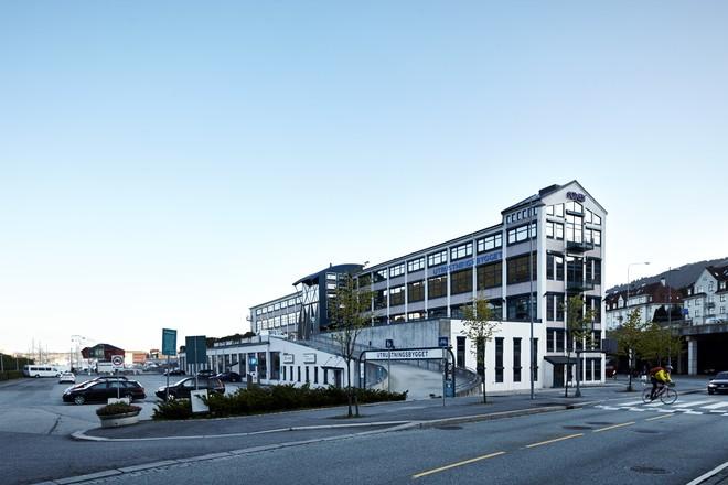Utrustningsbygget i Solheimsviken