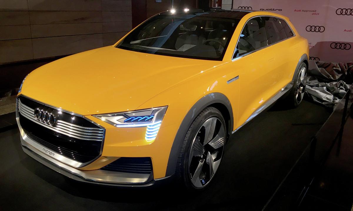 Elektrisk overraskelse for 500 Audi-ansatte