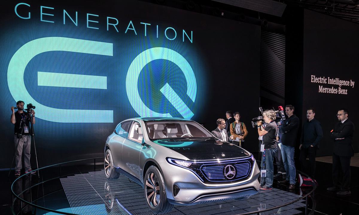 EQ er Mercedes-Benz´ elektriske framtid