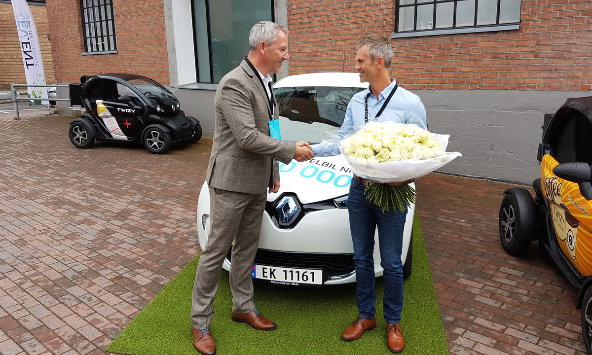 Nå har Renault solgt 100.000 elbiler