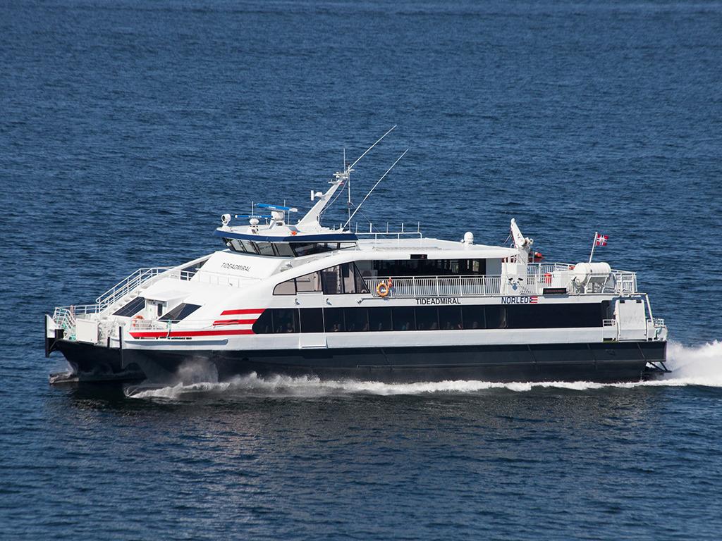 Hurtigbåten MS Tideadmiral