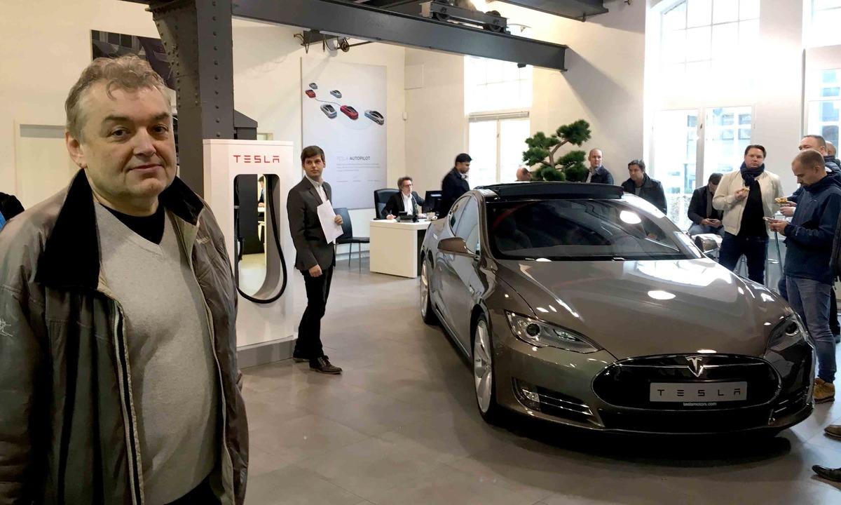 Flere hundre har bestilt Tesla Model 3
