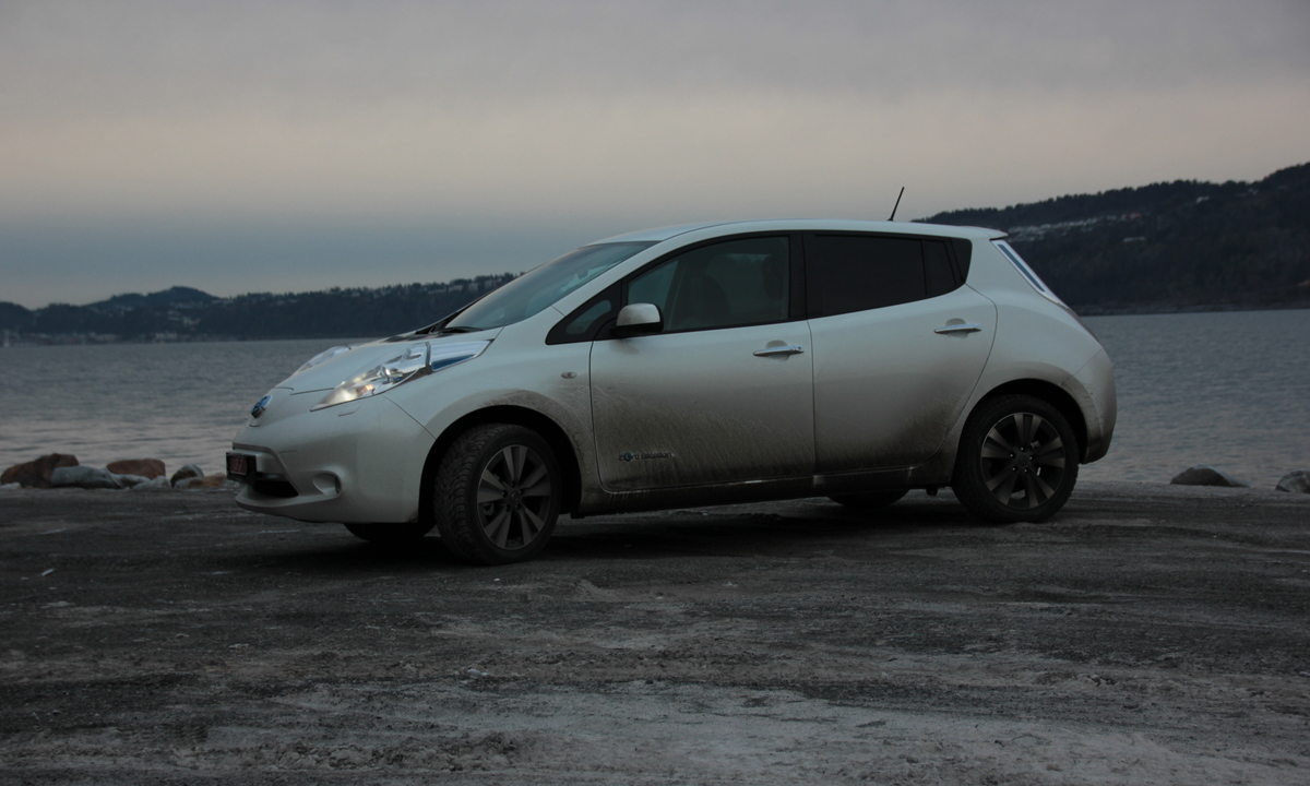 nissan leaf 2017 lader