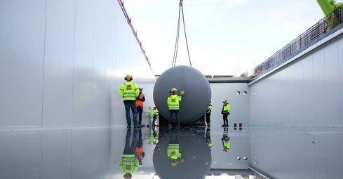 Kjølesystem ved Bergen lufthavn Flesland