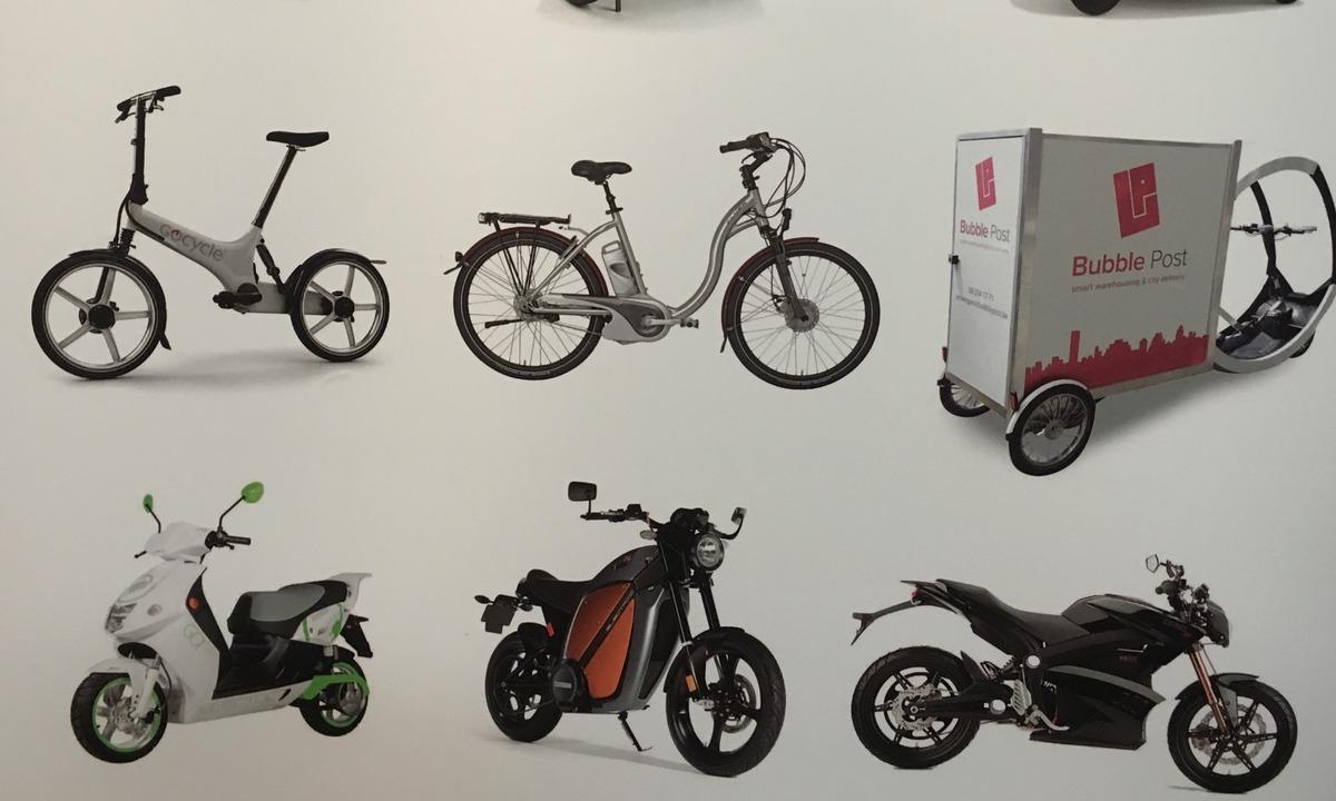 Elektrisk framtid på to, tre og fire hjul