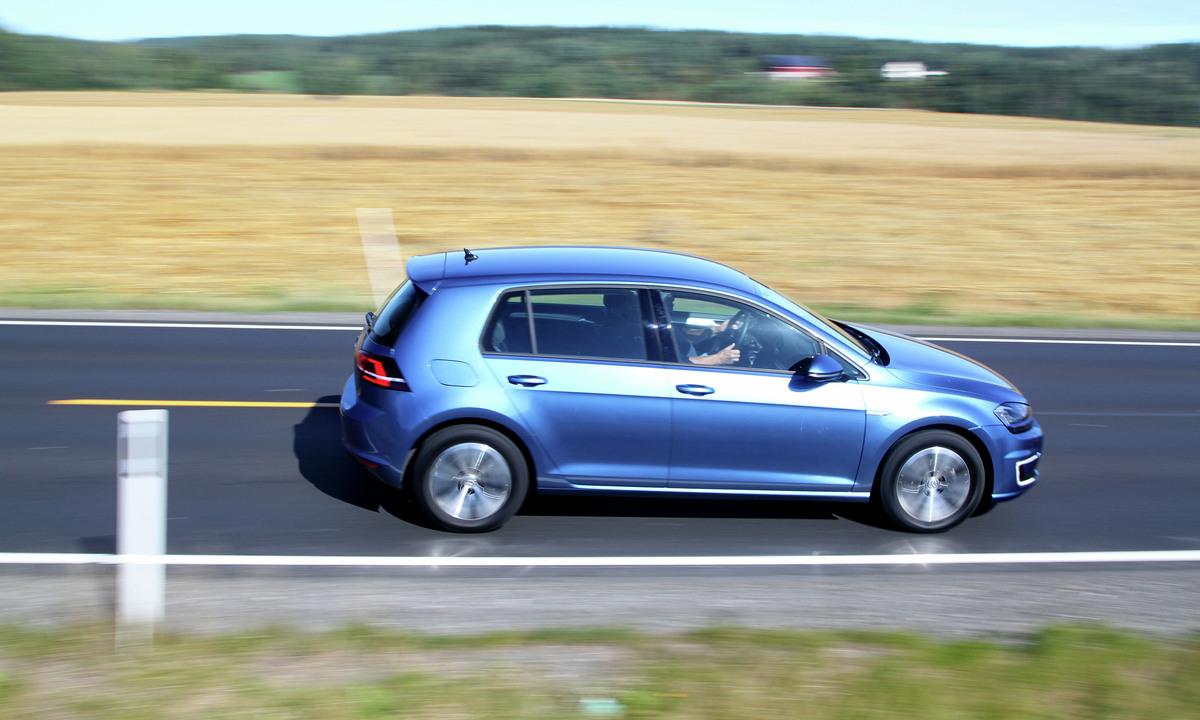 Test av Volkswagen e-Golf: Helt klart blant de mest effektive