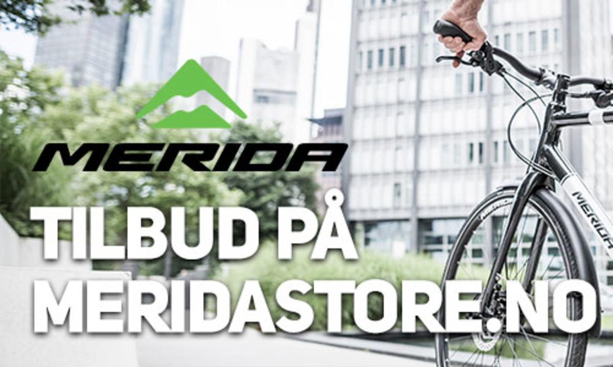 Rabatt på Merida og E-Green sykler og tilbehør