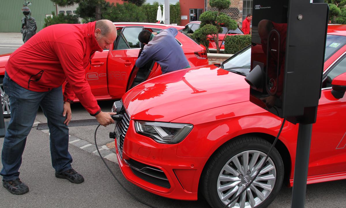 Prøvekjøring: A3 e-tron er Audis første ladbare