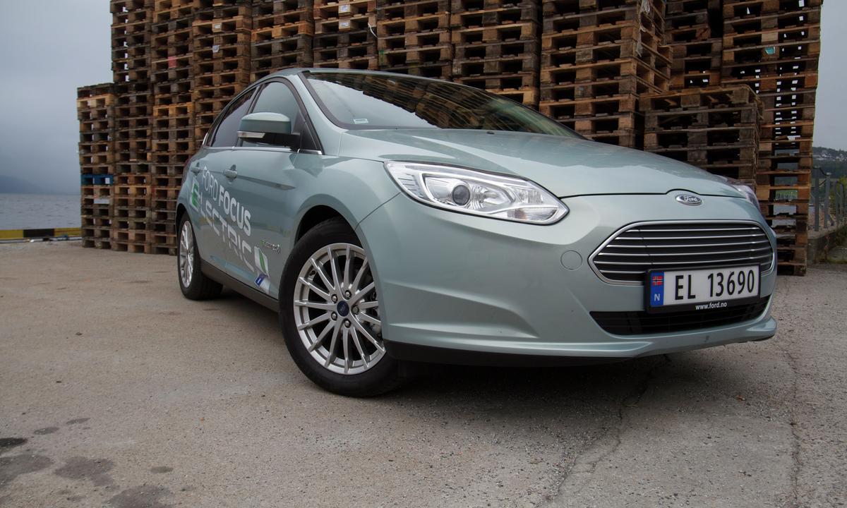 Test av Ford Focus Electric: Holdt omtrent hva den lover