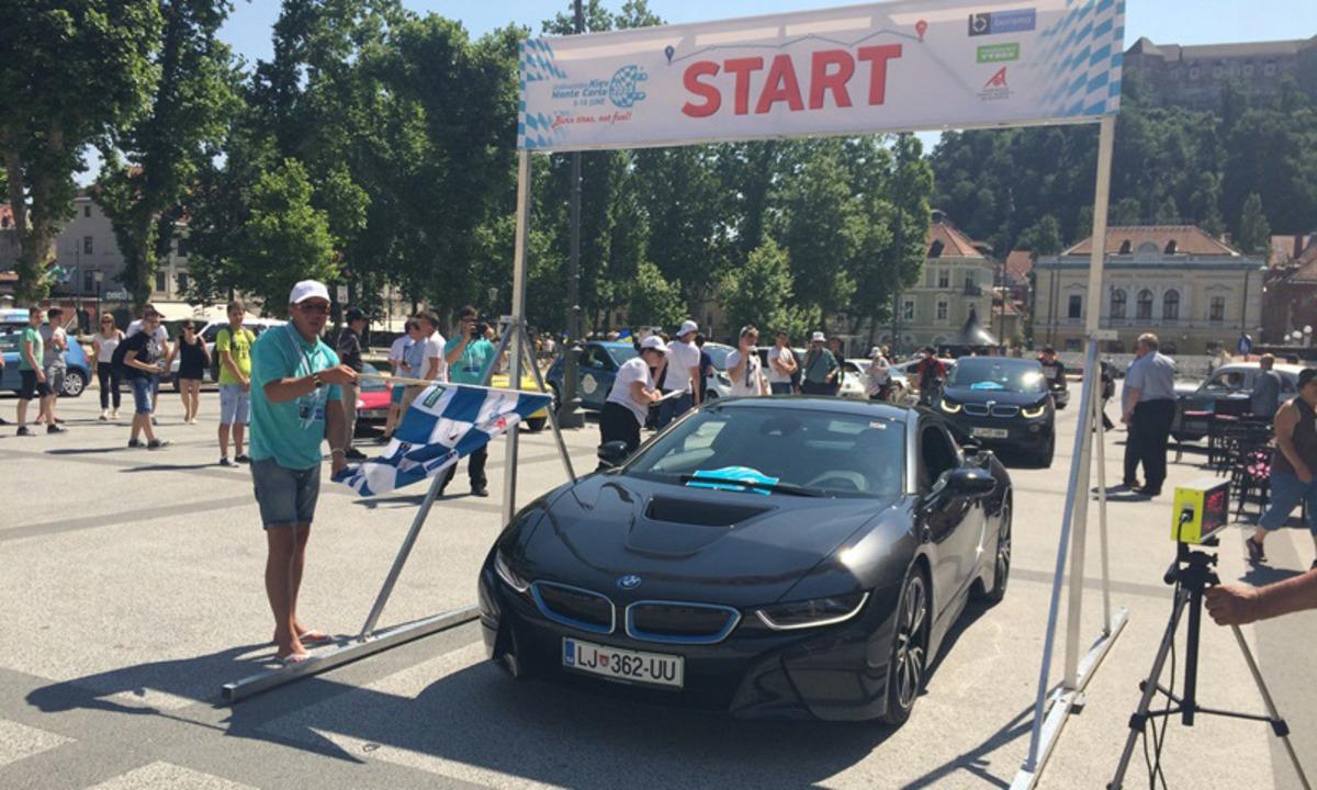 Bli med på elektrisk rally i sommer
