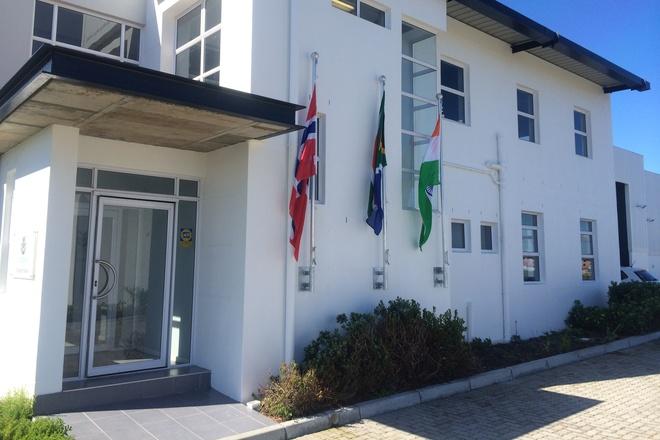 Inngangspartiet til GC Rieber Compact South Africa i Capricorn