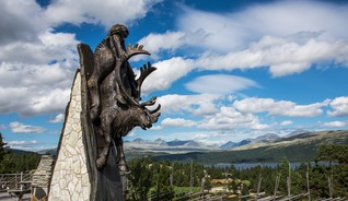 Travel in the Peer Gynt Festival region and experience the local art - Photo:
