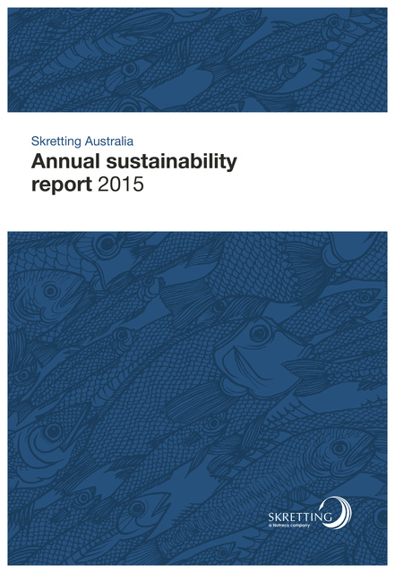 Skretting Australia 2015 sustainability report