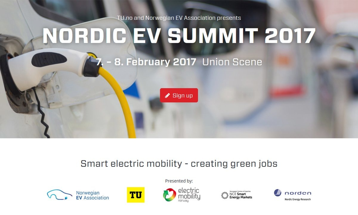 Velkommen til nordisk elbilkonferanse